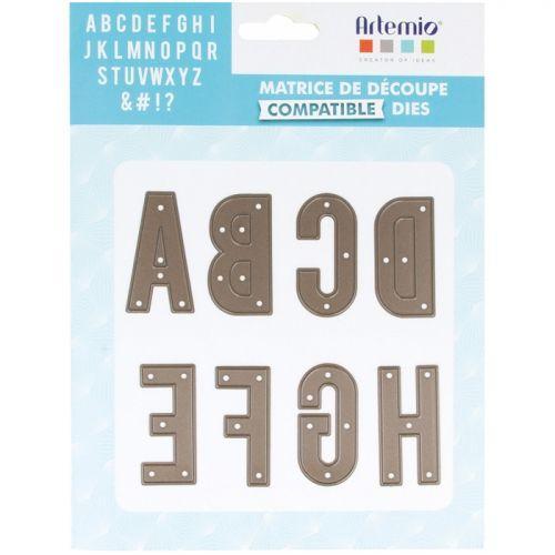 Thinlits Cutting die - Capital alphabet 4.8 cm