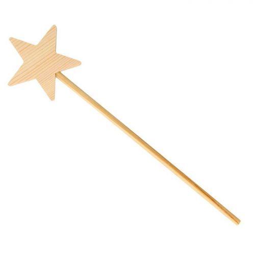 Wooden magic wand 23 cm