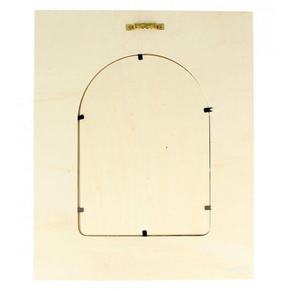 Marco de madera 22 x 27 cm - Ventana redondeada