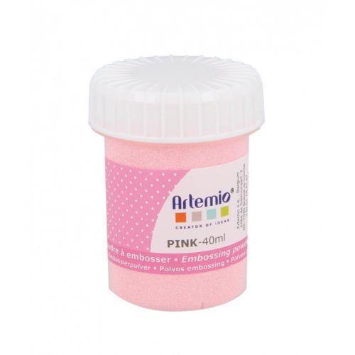 Embossing powder 40 ml - Pink