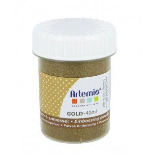 Polvo de embossing 40 ml - Oro
