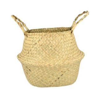 Wicker basket 27 x 24 cm