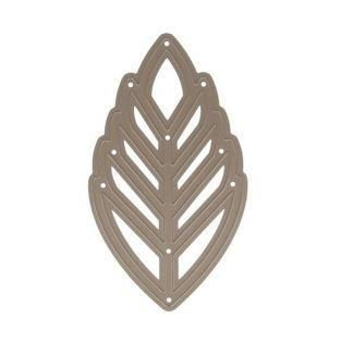 Troqueles de corte Hoja tropical 13.5 x 7.5 cm