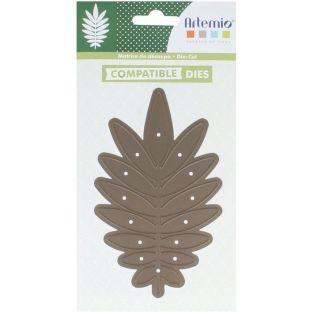 Troqueles de corte Hoja de palma 13,5 x 8 cm