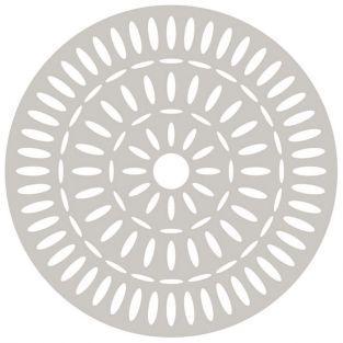 Matrice de découpe - Rosace indienne Ø 15 cm