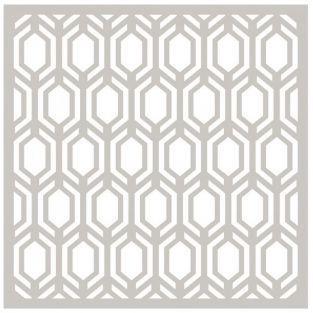 Matrice de découpe - Hexagones 14 cm