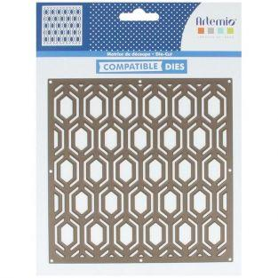 Thinlits Cutting die - Hexagons 14 cm