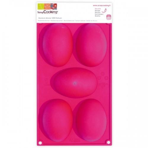 """Molde """"5 huevos de Pascua"""""""