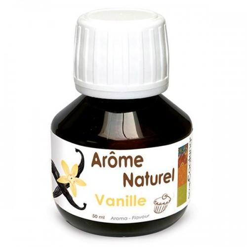 Natural vanilla flavor - 50 ml
