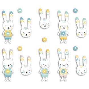 20 Die-cuts - Leonard Rabbit
