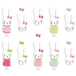 20 Die-cuts - Josephine Rabbit