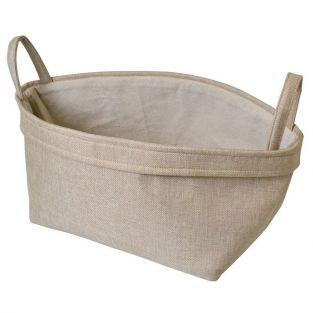 Canvas cat basket