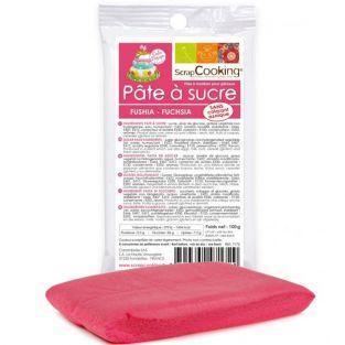 Pasta di zucchero Fuchsia 100 g