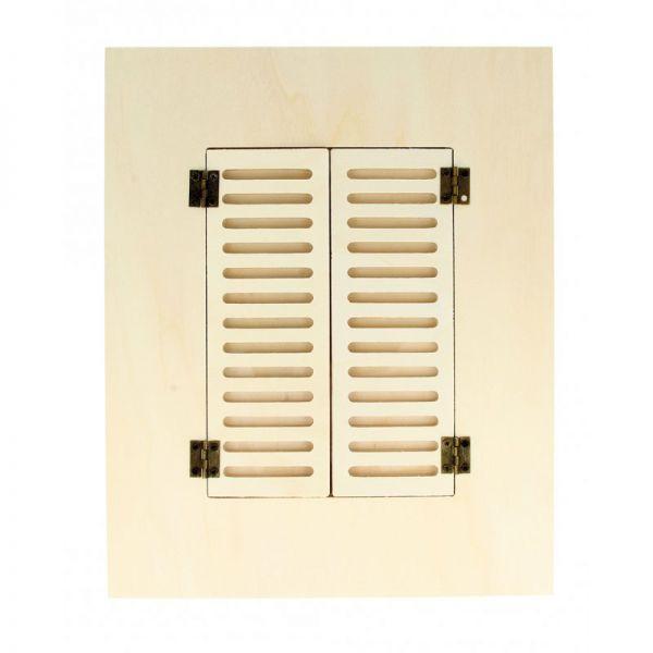 Marco de madera 22 x 27 cm - Ventana