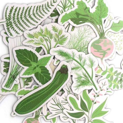 20 Die-cuts - Vegetable garden