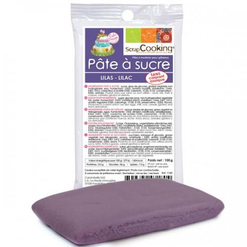 Lilac sugarpaste - 100 g