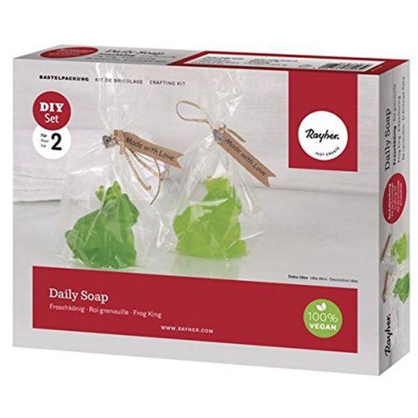 coffret savon diy faire soi m me roi grenouille. Black Bedroom Furniture Sets. Home Design Ideas