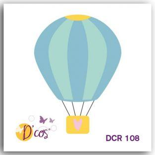 Mini Thinlits Cutting die - Hot Air Balloon 5 x 5 cm