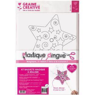 Kit plastique dingue - Baguette magique à faire soi-même