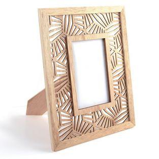 Wooden photo frame 24 x 29 cm - Vegetal