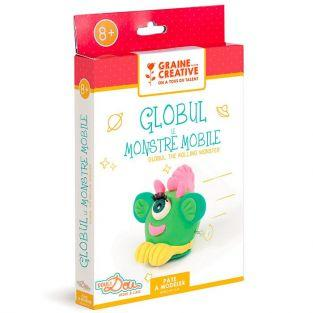 Modeling clay box for children - Globule the rolling monster