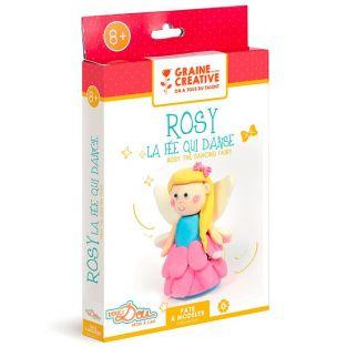 Modeling clay box for children - Rosy the dancing fairy