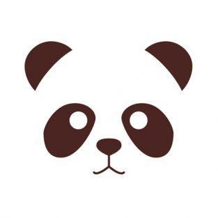 Sellos de madera - Panda