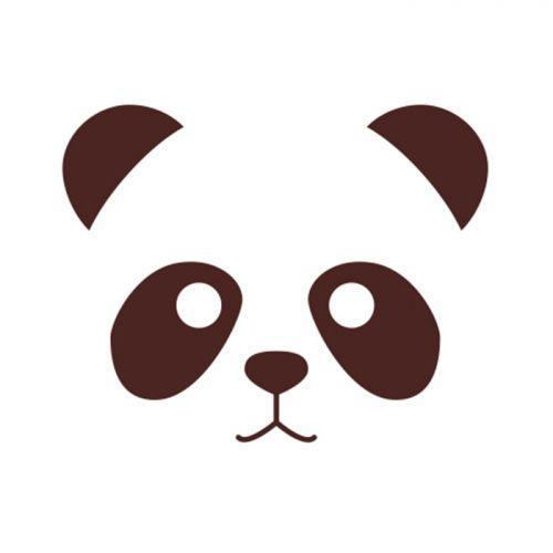 Wooden stamps - Panda