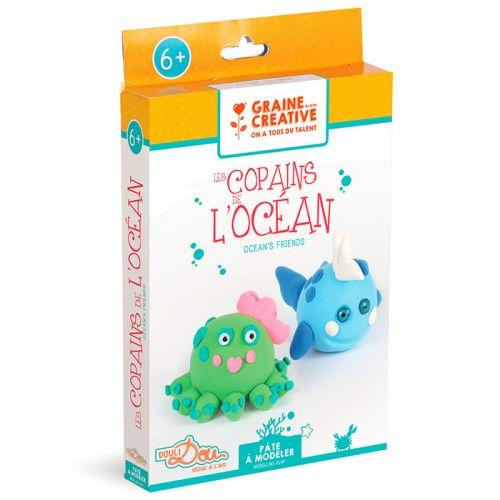 Coffret pour enfants pâte à modeler - Les copains de l'Océan
