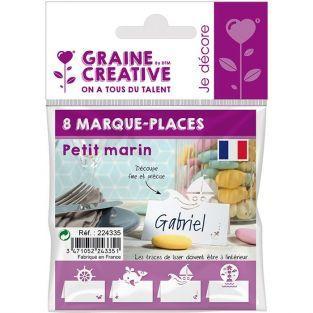 8 marque-places Petit marin