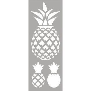 Pochoir 15 x 40 cm - Ananas
