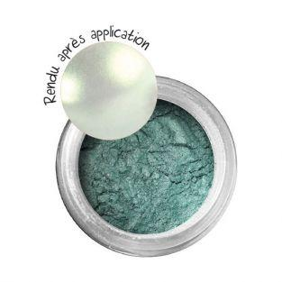 Metallic effect powder for FIMO clay - Emerald green