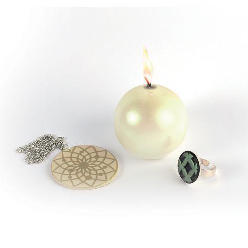 Poudre effet métallique pour pâte FIMO - Jade