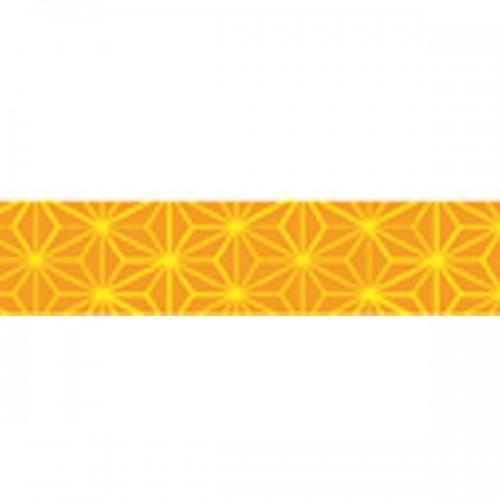 Masking Tape fleurs orange-jaune