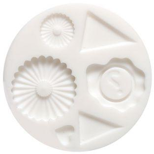 Mini silicone mold for FIMO clay - Decoration