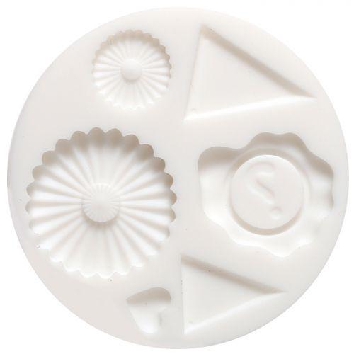Mini moule en silicone pour pâte FIMO - Décoration