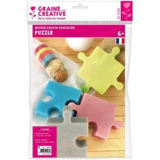 Mini moule à savon - Puzzle