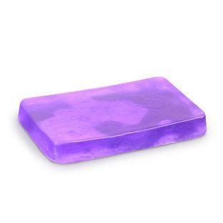 Jabón para moldear 100 g - Púrpura translúcido