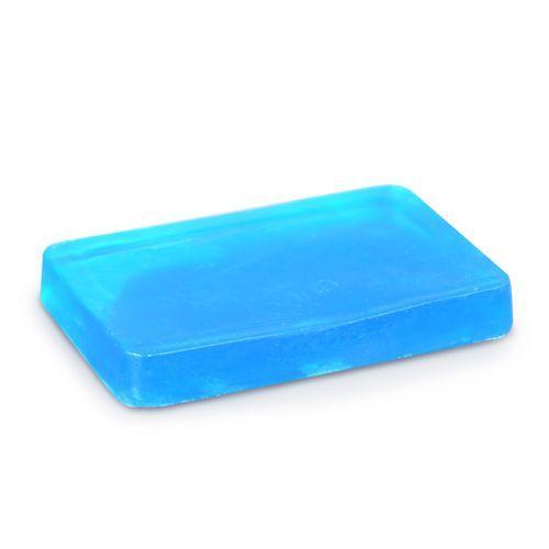 Savon à mouler 100 g - Translucide bleu