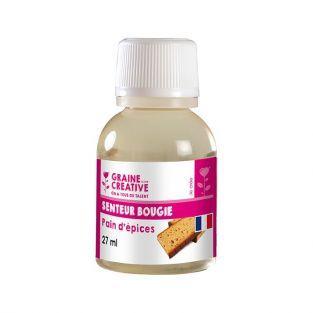 Parfum pour bougies 27 ml - Senteur pain d'épices