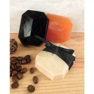Mini moule à savon - Diamant rectangle