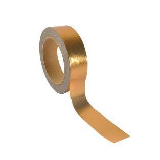Cinta adhesiva de aluminio 5 m x 1,5 cm - cobrizo