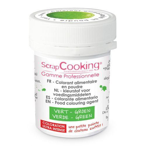 Colorante alimentario en polvo - Verde