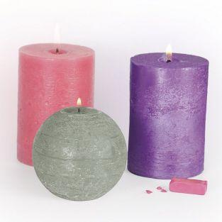 3 solid Candle coloring agents - Charm