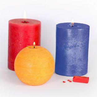 3 solid Candle coloring agents - Primary