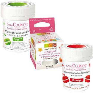 Kits de colorants alimentaires - Drapeau italien
