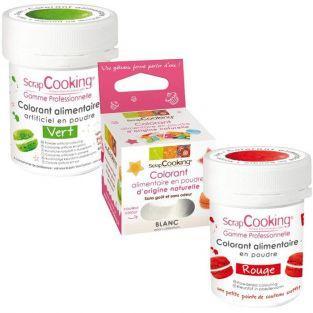 Kits de colorantes alimentarios - Bandera italiana
