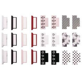 24 adhesive tabs for bullet bullet