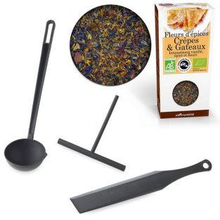 Pancake utensils + spices