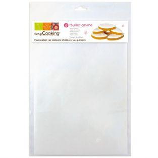 Wafer sheets for French calissons